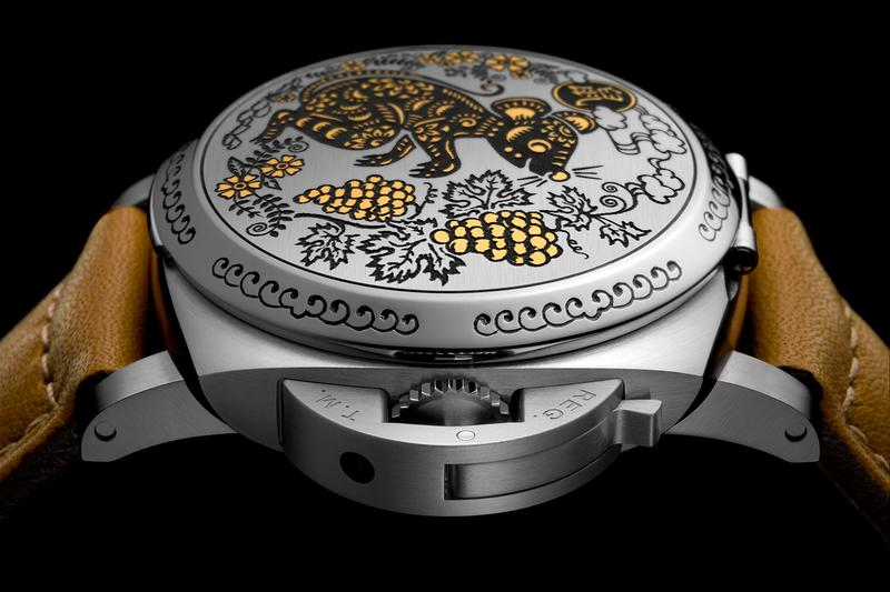 Panerai Year of the Rat Sparsello Luminor Sealand Info watches Italian Lunar New Year