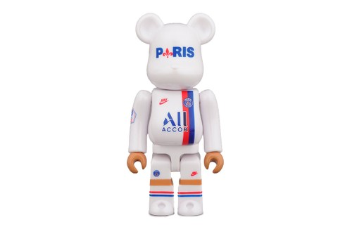 Paris Saint-Germain Joins Medicom Toy for Third Kit BE@RBRICK Figures