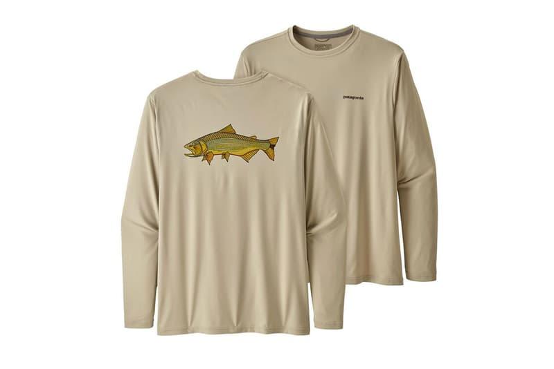 Patagonia Fish-Inspired Graphic T-Shirts