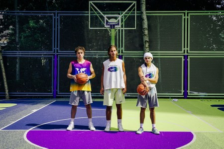 Pigalle & Nike Opens New Colorful Basketball Court in Mexico City