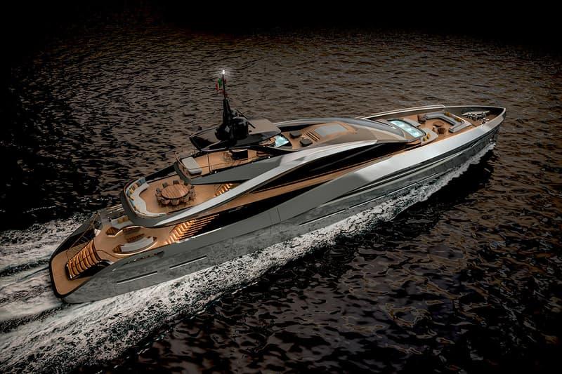 italian design pininfarina rossinavi super sport 65 yacht luxury boats ships