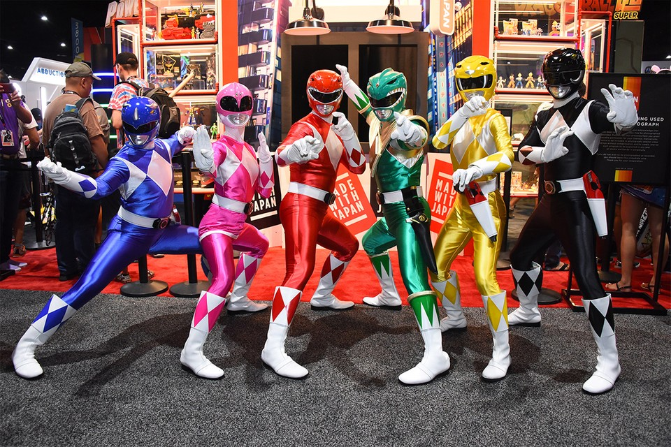 A Power Rangers Reboot Is Reportedly in the Works at Paramount Pictures