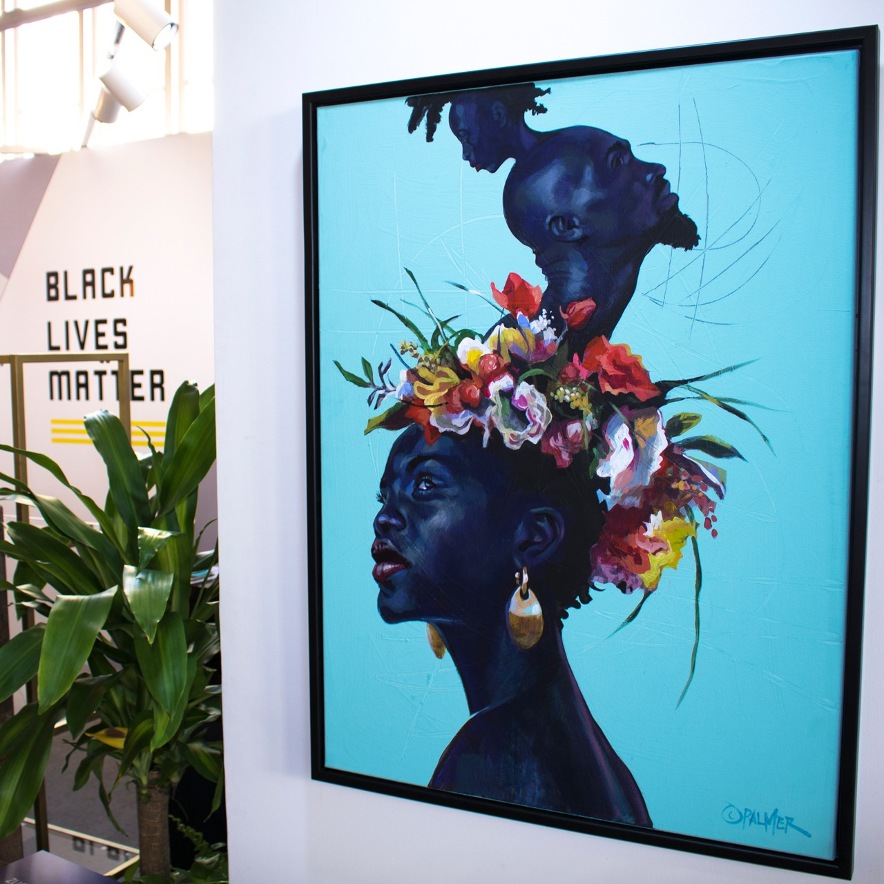 prizm art fair mikhaile solomon founder interview black art artists people of color african diaspora love in the time of hysteria art show
