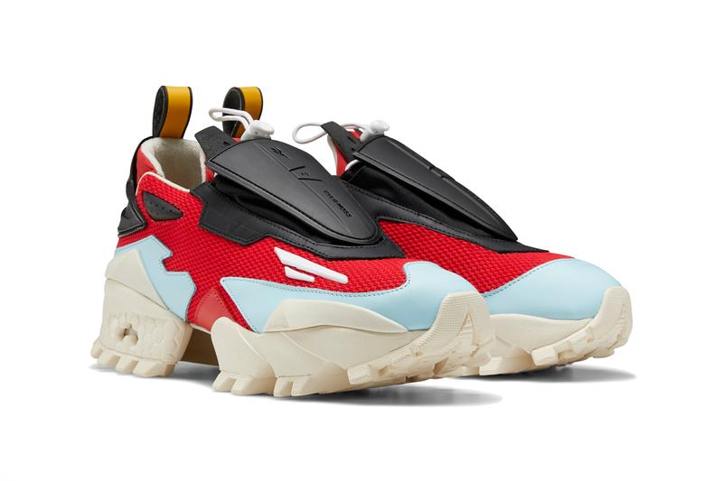 pyer moss reebok experiment 4 fury trail glory primal red sandtrap blue black white kerby jean raymond EH1233 release date info photos price
