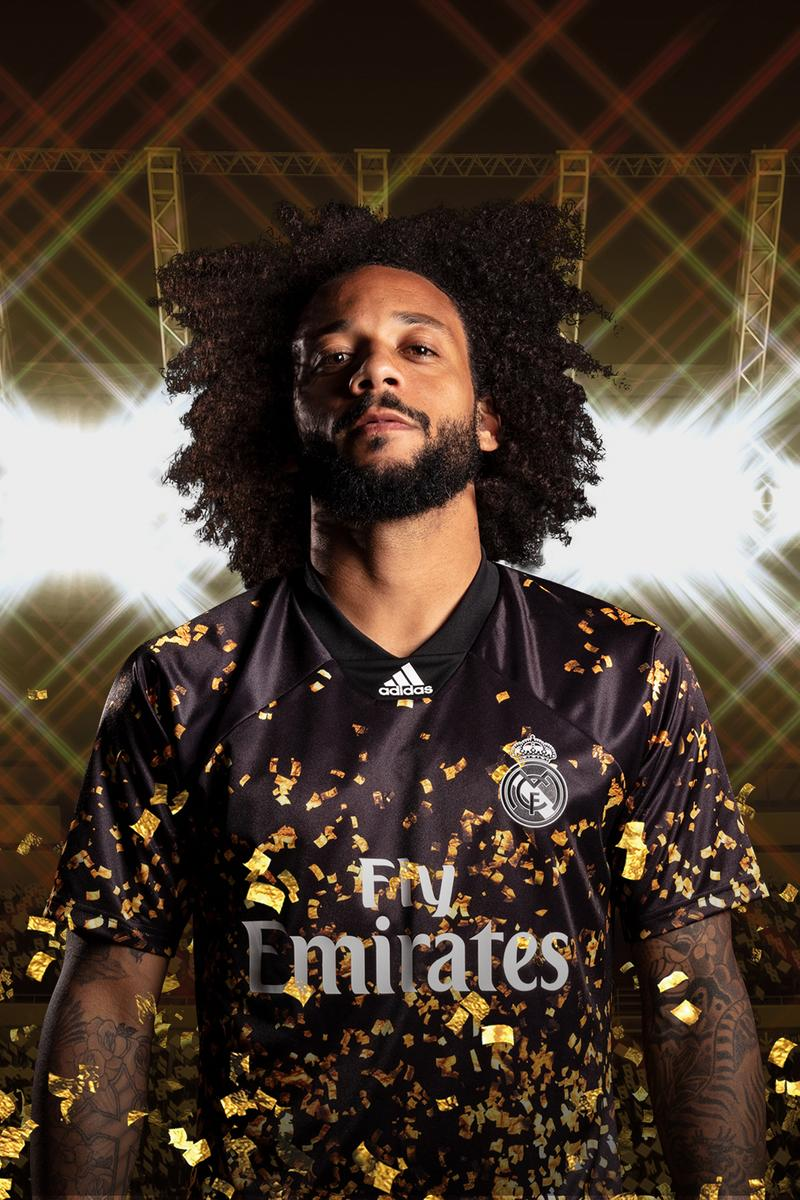 Real Madrid 2019/20 Fourth Kit W/ EA Sports release info football soccer jerseys la liga fifa 20 gaming video games adidas three stripes