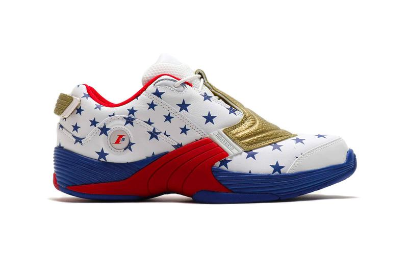 Reebok Answer V White Scarlet Pantone sneakers shoes footwear kicks trainers runners fw7486 star spangled banner united states of america american flag america usa DMX Moving Air Technology
