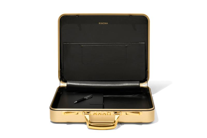 RIMOWA Attaché Gold Briefcase Release Info Date Buy Vintage