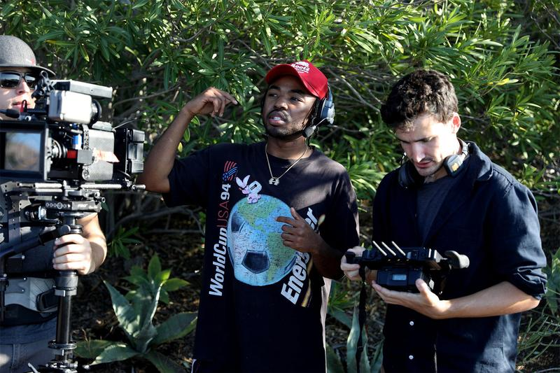 "Mez Gives BTS Look at Music Video for SiR's ""Mood"" zacari top dawg entertainment inspiration making of exclusive behind the scenes hip-hop rap tde video documentary"