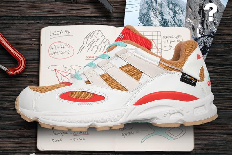 size adidas lxcon 94 carstensz cordura white wheat tan blue red mountain climbing release date info photos price