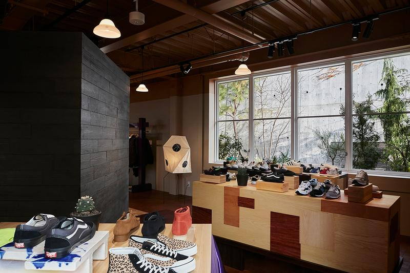Sneakersnstuff Tokyo Store Launch Opening Date Unveiling First Look Grand Open Japan Asia Footwear Retailer Limited Edition Drops Design Stores Architecture Log Road in Daikanyama SNS Cafe