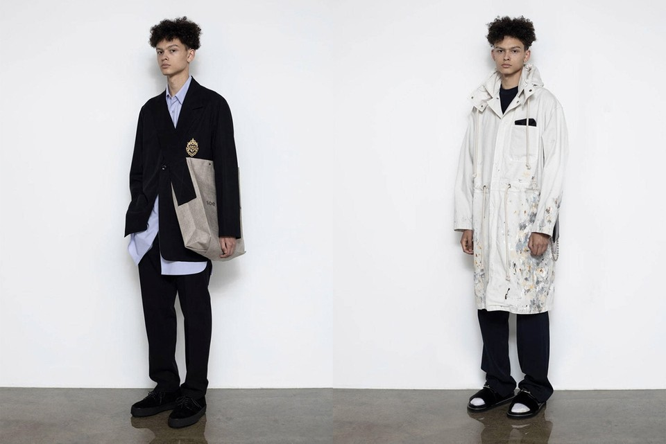 Tokyo Label soe Delivers Refined Cuts and Bold Imagery for SS20