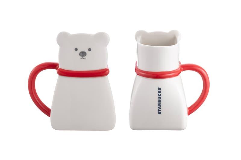 Starbucks Taiwan Limited Edition Polar Bear Accessories exclusive mug cup thermos plate holiday season festive christmas 2020 seasonal cartoon caricature tablewear lifestyle