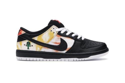 """Nike SB Dunk Low """"Raygun"""" With Tie-Dye Graphics Makes an Early Return on StockX"""