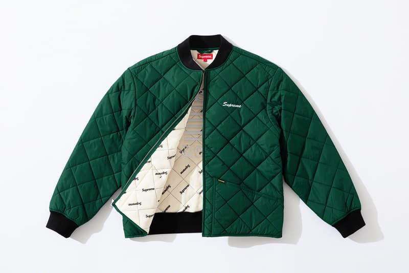 Supreme x dead prez Fall 2019 collaboration hip hop new york supreme jackets hat accessories lookbooks
