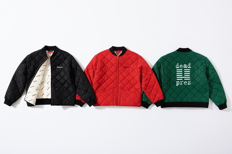 Supreme & Dead Prez Link Up For Comfy Fall 2019 Collection: Photos