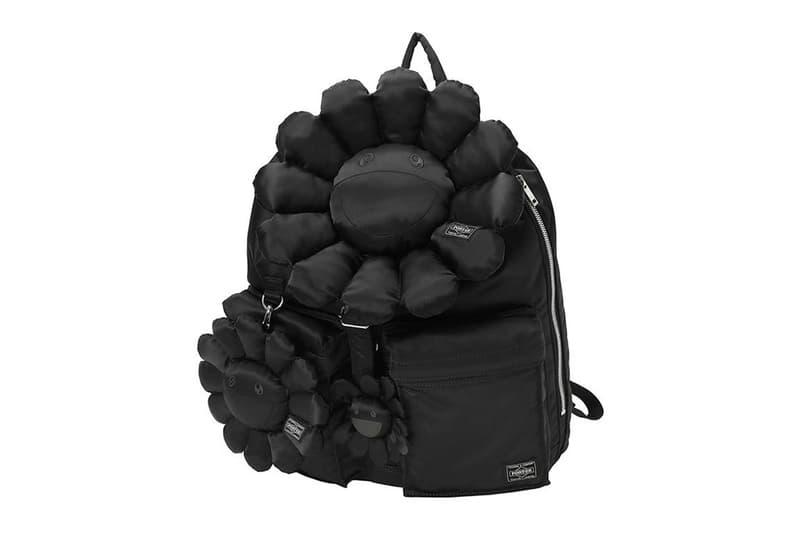 Takashi Murakami x PORTER Black TANKER Series Release bags KaiKai KiKi Takashi Murakami Japan Bags Yoshida Porter backpacks Helmet Bag