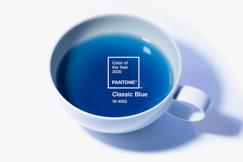 TEALEAVES Pantone Color of the Year 2020 Tea blend aroma beverage trend classic blue berry citrus