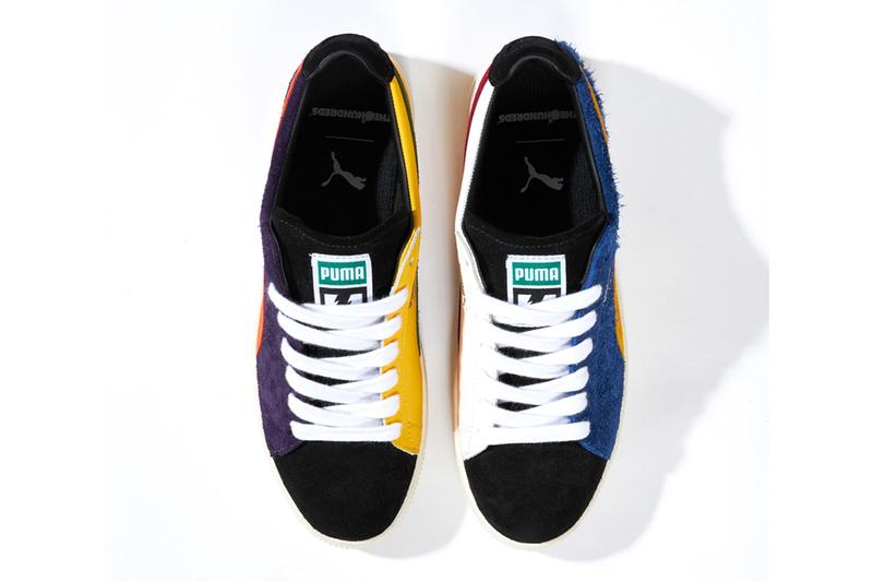 the hundreds puma clyde release date info photos price 372944 01 sodalite blue spectra yellow