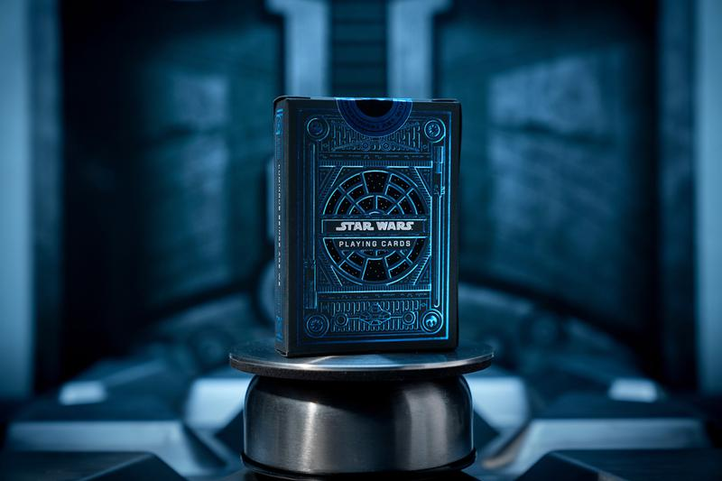 Star Wars x Theory11 Playing Card Deck Release Light Side Dark Side JJ Abrams Darth Vader Blue Red White Black