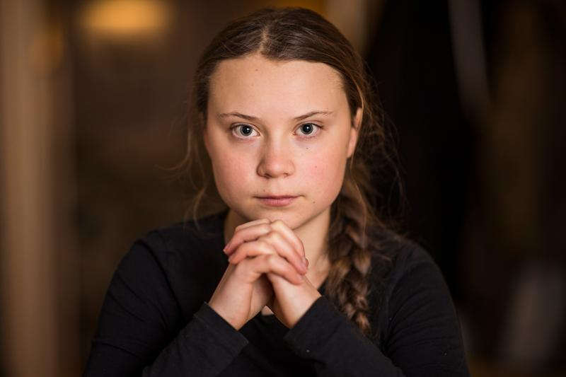 greta thunberg time person of the year 2019 climate crisis activist 16 year old swedish sweden un speech winner nominee