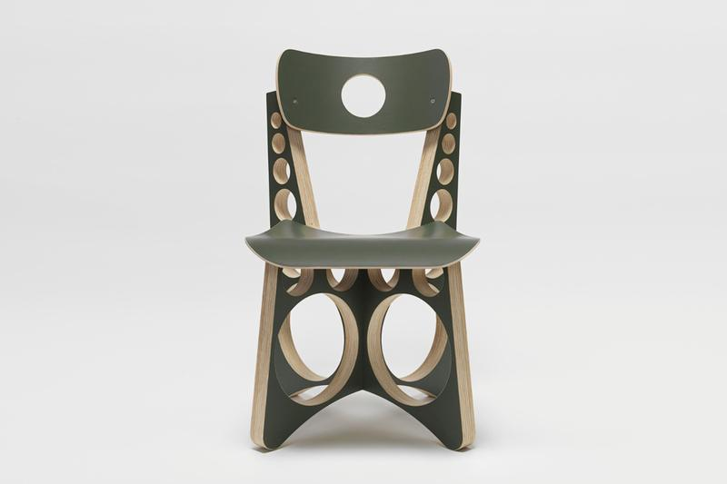 tom sachs olive drab shop chair furniture