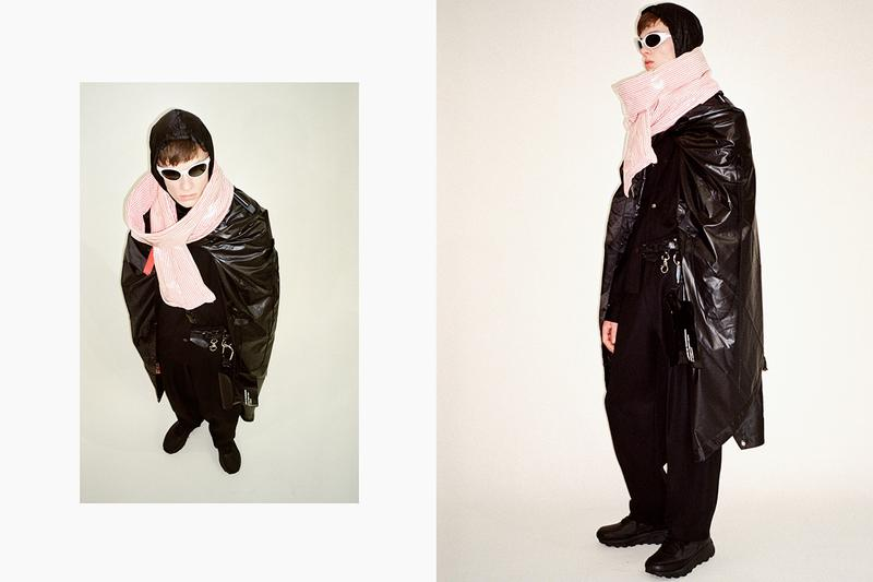 """Tourne de Transmission """"Blank Tapes"""" Vol. 2 Fall/Winter 2019 Lookbook Collection Graeme Gaughan Digital Data Streaming Fashion Menswear '80s audio cassettes"""
