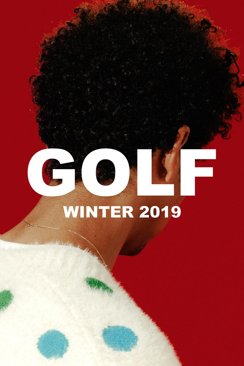 tyler the creator golf wang winter 2019 collection release lookbook images