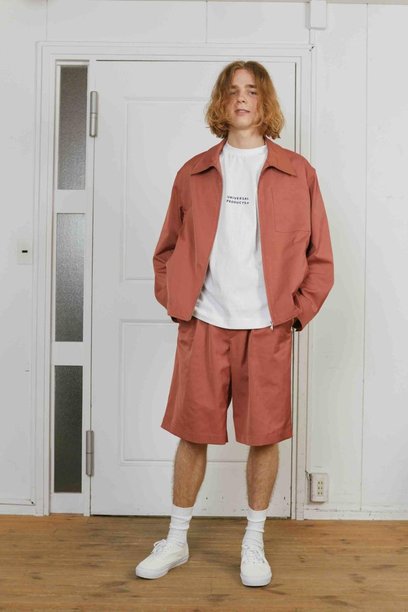 Universal Products Spring Summer 2020 collection lookbook ss20 clothing menswear mens tokyo japan workwear