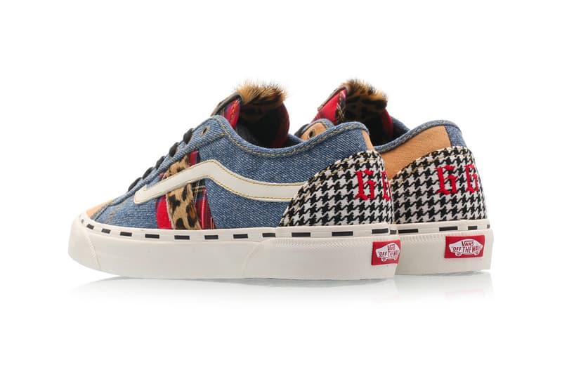 Vans BESS NI Denim Marshmallow shoes sneakers footwear runners trainers skateboard skate shoes skateboarding california kicks deconstructed reconstructed 90s silhouette streetwear