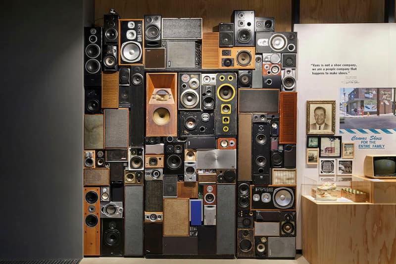 Vans Opens Brand Showcase Store Seoul south korea gangnam asia shoppable history wall product customization station radio tv installation cryptik
