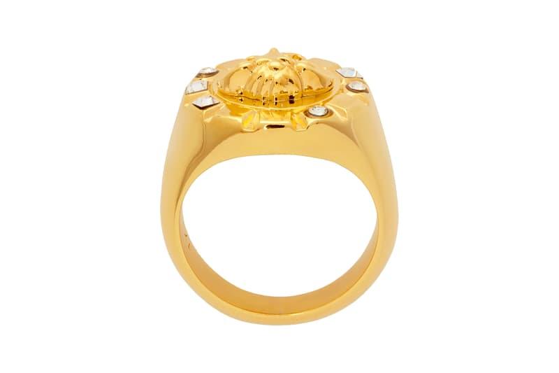 Anello tondo Medusa Crystal Palace oro Versace Info sulla liberatoria