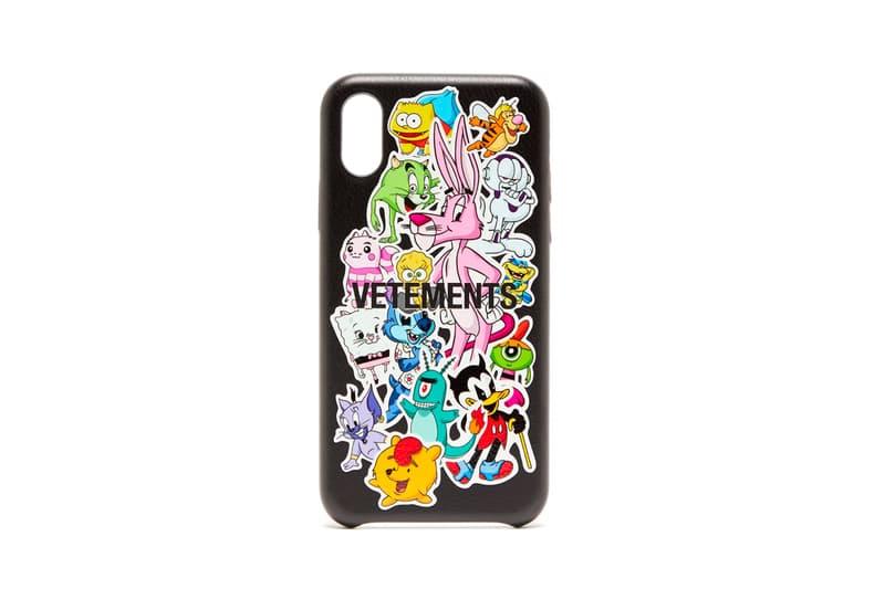 Vetements Monsters iPhone XS Case Release Black Cartoon Info Buy Price