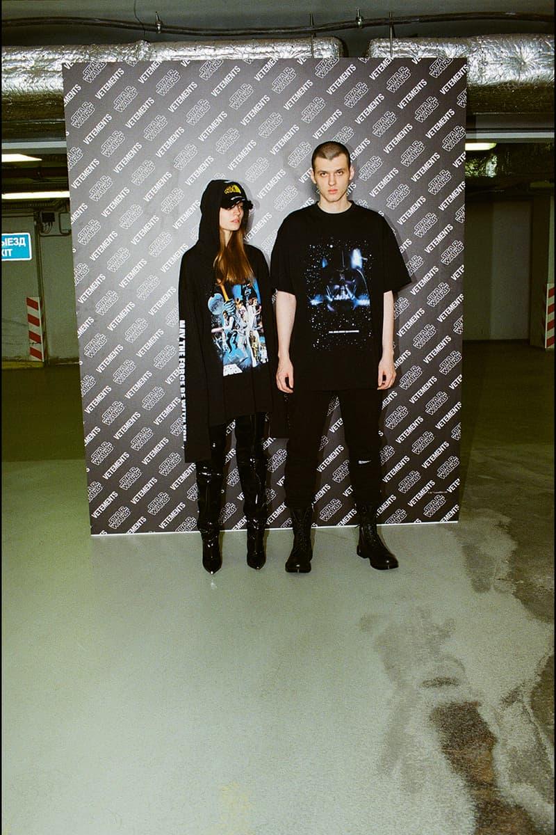 vetements star wars lookbook release information ssense buy cop purchase t-shirt hoodie dress heels the rise of skywalker