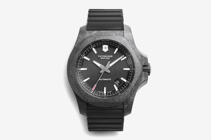 Victorinox Swiss Army Carbon Mechanical Watch INOX composite timepiece watches accessories knife pocket spartan PS