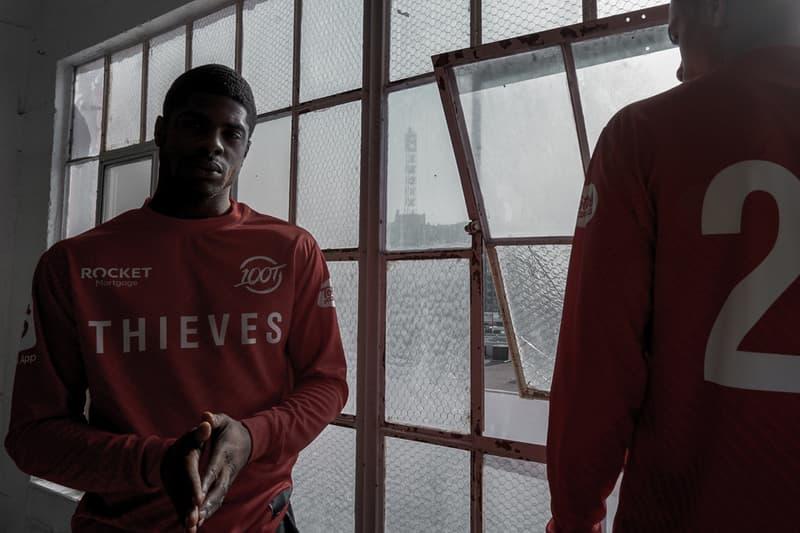 100 Thieves 2020 Program Three Jerseys Drake Scooter Braun
