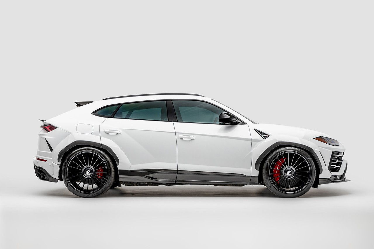 1016 Industries 840 BHP Carbon Widebody Lamborghini Urus First Look Closer Automotive News Italian Super Car SUV Revealed Body Kit Power Upgrades Tuner Custom Price Limited Edition 50 Units