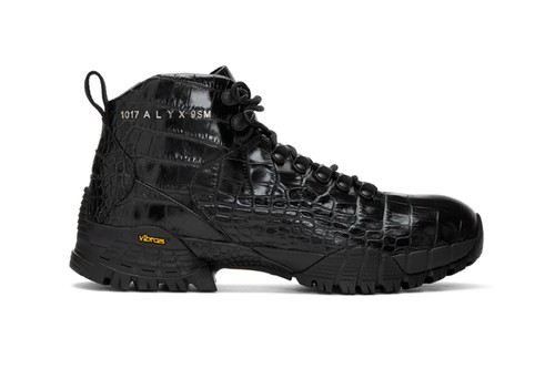 1017 ALYX 9SM's Hiking Boots Receive a Croc-Inspired Makeover