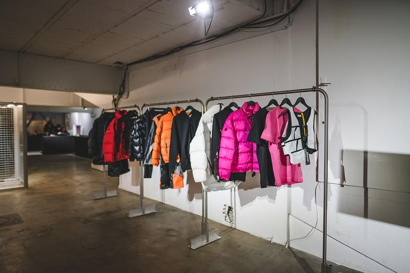1017 alyx 9sm paris fashion week nike air force 1 high collaboration moncler bang olufsen release information pop up store matthew m williams buy cop purchase closer look