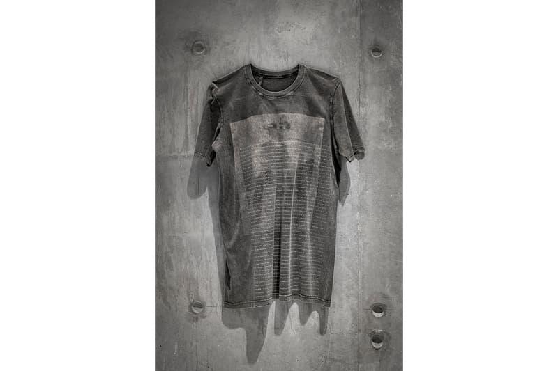11 By Boris Bidjan FW20 Runway Collection technical apparel goth streetwear avant garde menswear salomon collaborations techwear 11bybbs Massive Attack Collaboration Robert Del Naja