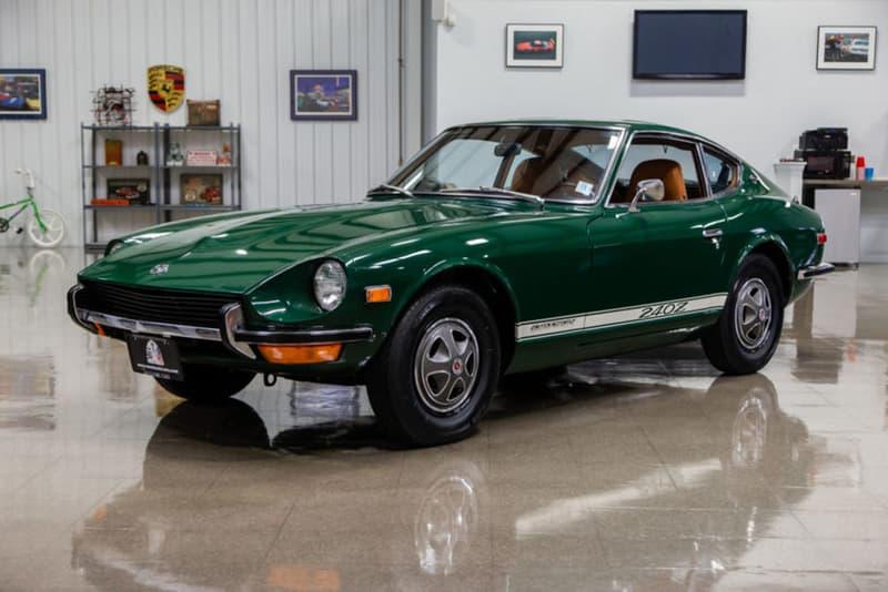 1971 Datsun 240Z Sells for $310,000 USD Auction Bring A Trailer Listing Premium Classic Japanese JDM Sportscar Original Racing Green Automotive News Record Sale