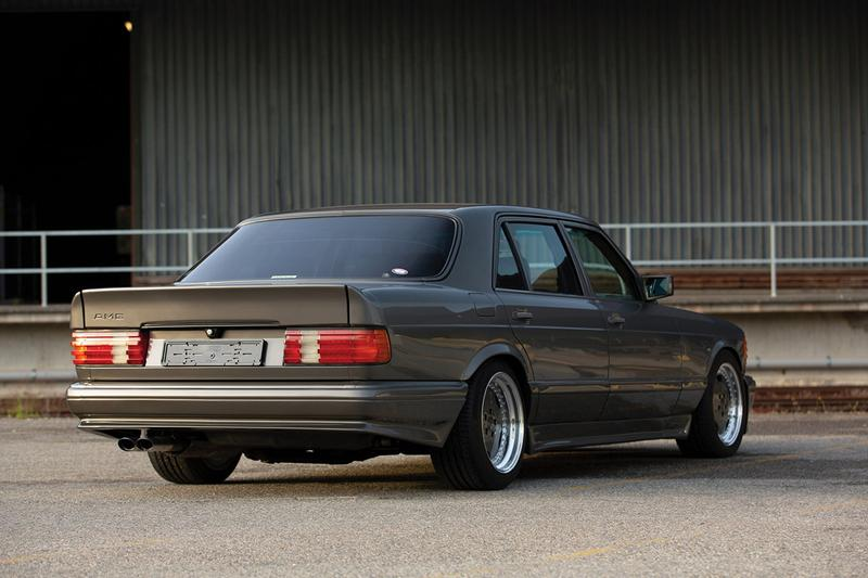 """1989 Mercedes-Benz 560 SEL AMG RM Sotheby's """"Youngtimer"""" Collection Auction Closer Look Classic German Automotive Merger Rare Merc Wide Body Japanese Import Luxury Saloon Power Performance Information Estimates"""