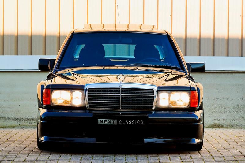 1990 Mercedes-Benz 190E 2.5-16 Evolution II Bring A Trailer Auction Classic German Automotive Sportscar Rare Performance #130 of 502 Cosworth AMG Powerpack W201 EVO II