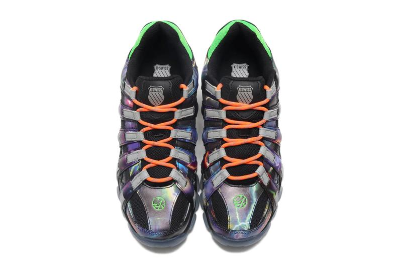 24karats k swiss kswiss st429 lightning thunder neon orange neon green release date info photos price