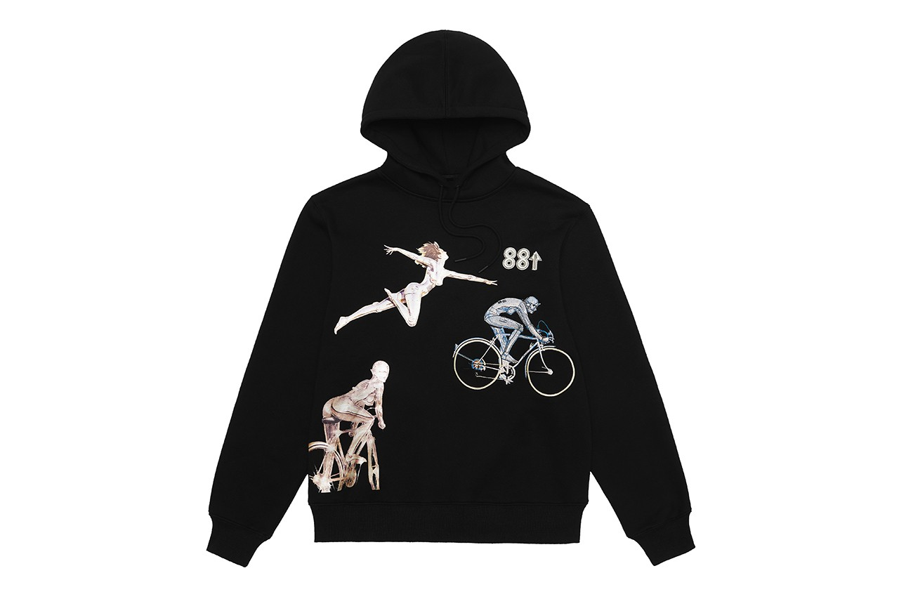 88rising 88ライジング アジア 音楽レーベル 空山基 Hajime Sorayama Release AR Collection インスタグラム フィルター instagram head in the clouds ii festival album マーチ コラボレーション collaboration hoodie t-shirt pants cap hat - skate decks skateboards japanese artist