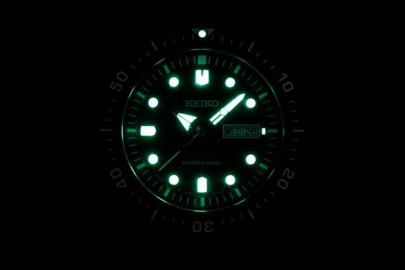 BAPE Seiko Mechanical Diver's Watch Black Gray Camo