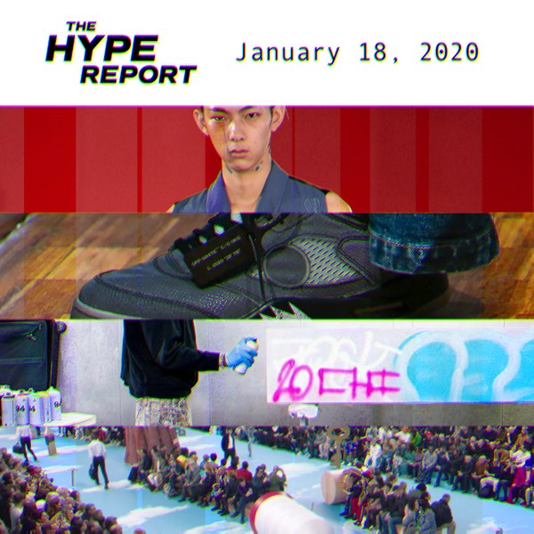 The HYPE Report: Paris Fashion Week, Upcoming Sneaker Releases and More