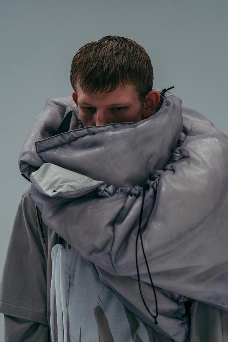 NILøS Fall/Winter 2020 Biotechnology Lookbook Prosthetic Nose Ears Models Future Techno