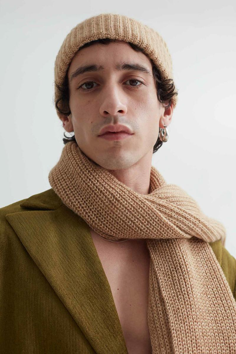 "Séfr Fall/Winter 2020 ""Beiti"" Collection Lookbook Menswear Clothing Release Information FW20 Lebanese Heritage Culture Tailoring Shirts Trousers T-Shirts Sweaters Knitwear Scarf Beanie"