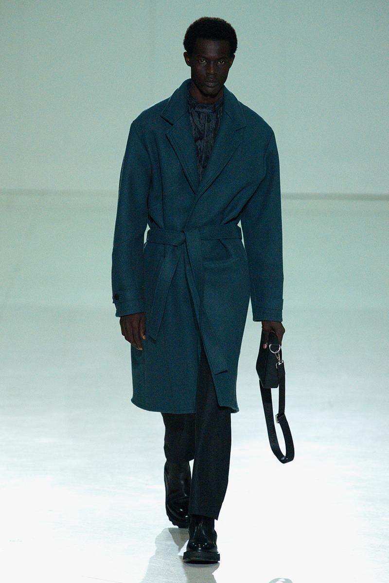 A-COLD-WALL* Fall/Winter 2020 Milan Fashion Week Runway Formal Clothing Samuel Ross Designs Looks Tailoring Coats Shirts Blazers Suits