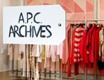 "Take a Look Inside A.P.C.'s Chromatic ""ARCHIVE"" Exhibition"